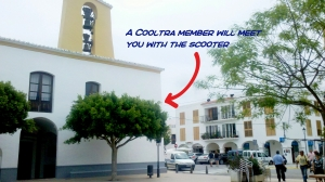 Santa Gertrudis - Cooltra delivery point