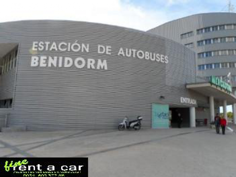 Estación de Autobuses Benidorm - Delivery Point (Fine Rent a Car)