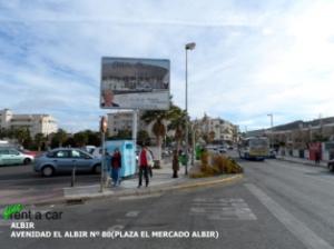 Albir (Plaza del Mercado) - Delivery Point (Fine Rent a Car)