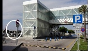 Aeropuerto de Barcelona Terminal T1 - Cooltra delivery point