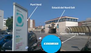 Estació del Nord - Cooltra delivery point