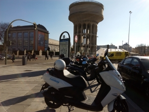 Plaza Castilla - Cooltra delivery point