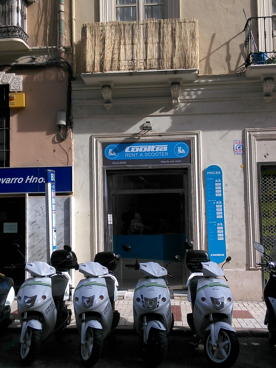 location scooter malaga