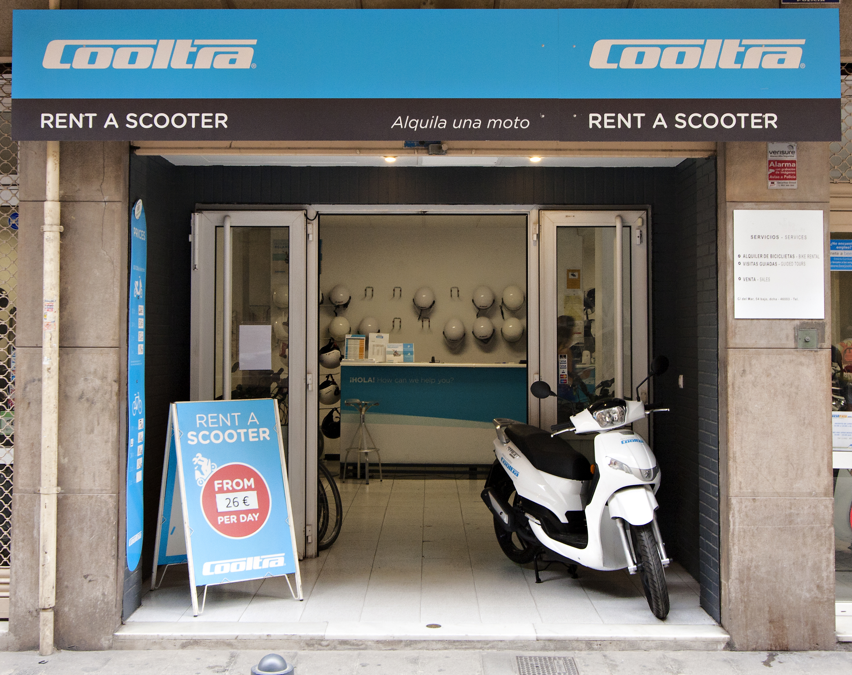 valence cooltra shop
