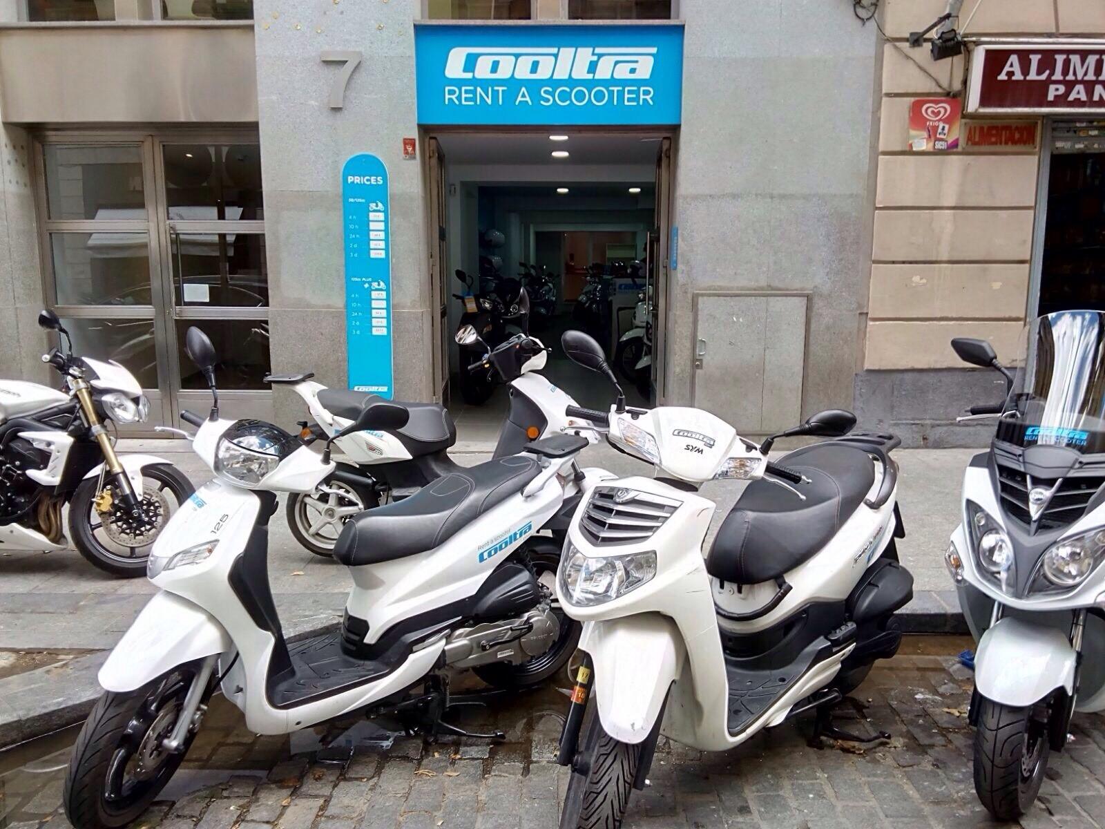 cooltra shop madrid