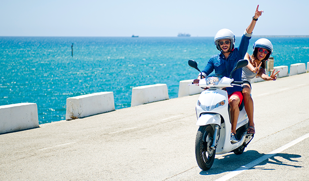 Alquiler de moto Formentera