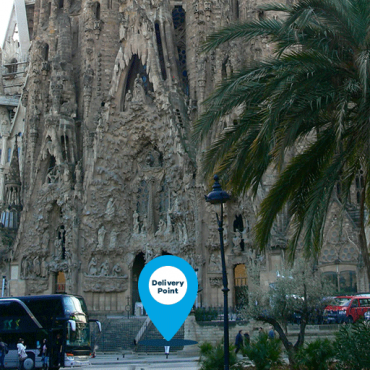 alquiler motos barcelona sagrada familia