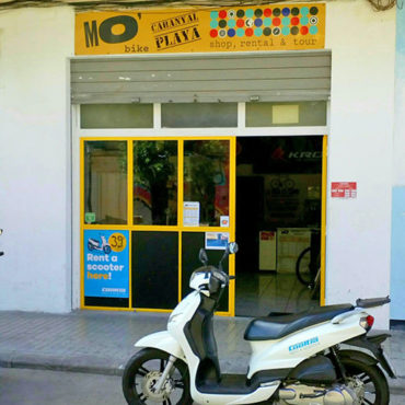 location scooter cooltra playa malvarrosa valencia mobike