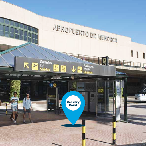 aéroport minorque