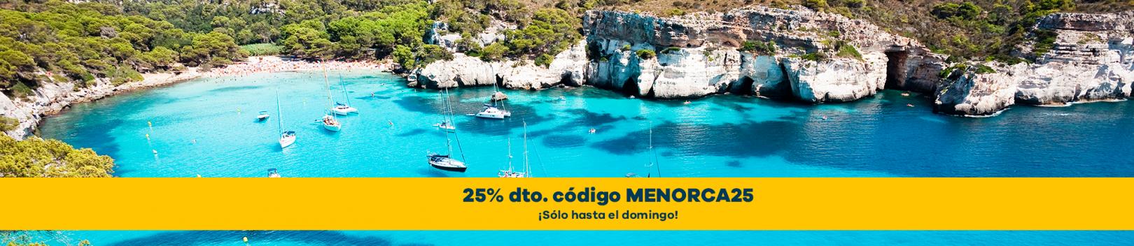 Alquiler de motos en Menorca