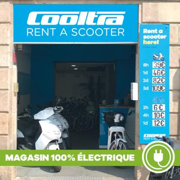 Location scooter électrique Barcelone