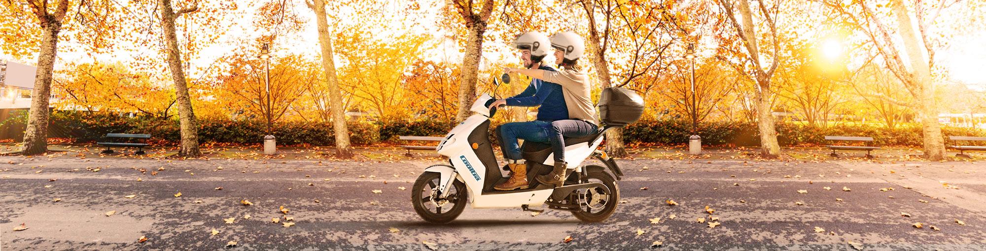 cooltra alquiler de motos y scooter de gasolina y eléctricas