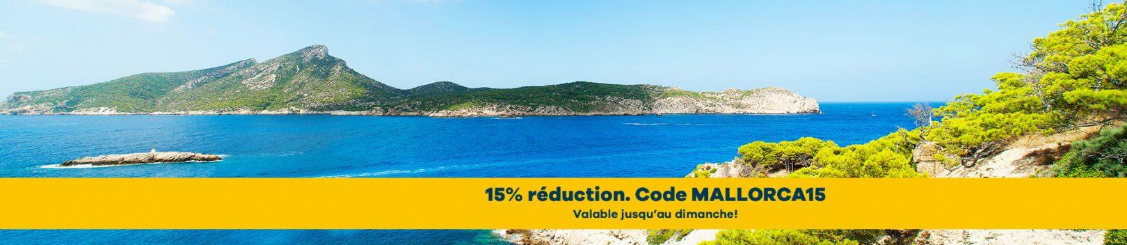 Location scooter Majorque reduction