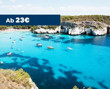 Roller mieten auf Menorca