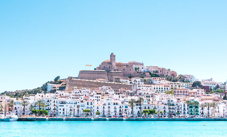 Scooter tours in Ibiza