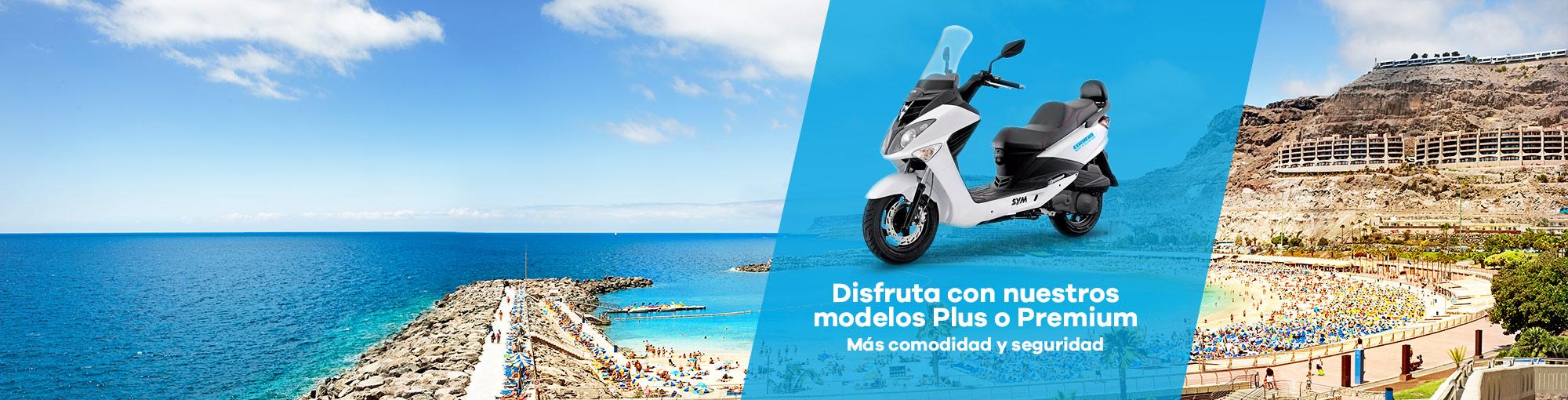 alquiler de motos plus premium