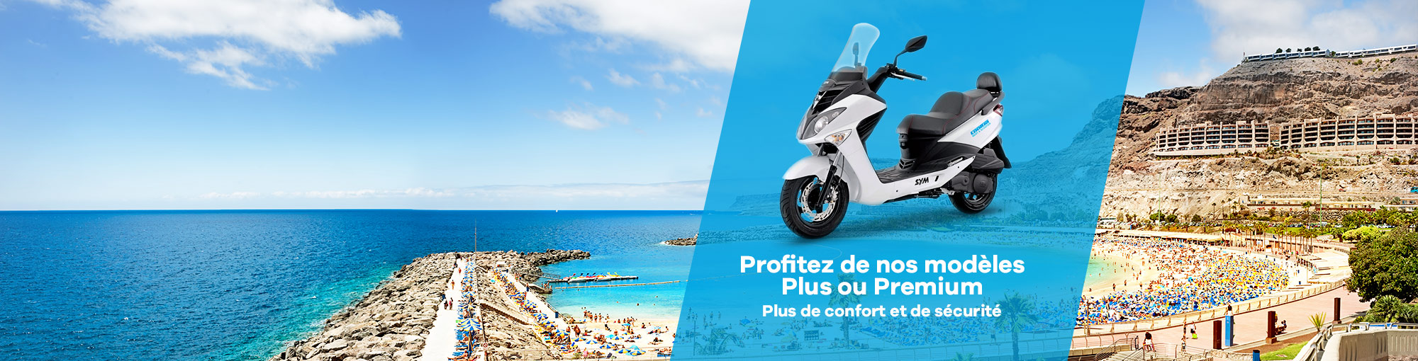 location de moto plus premium