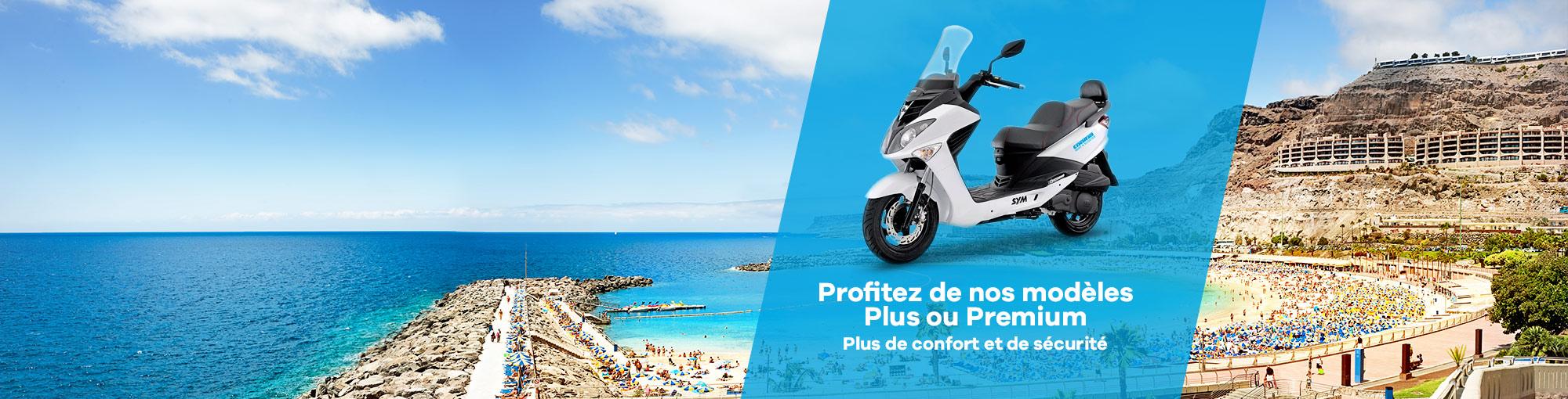 location de moto plus premium