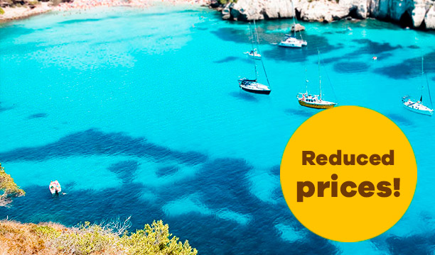 scooter rental minorca reduced prices