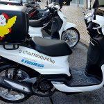 Estafetas de excelência com motas Cooltra com GPS