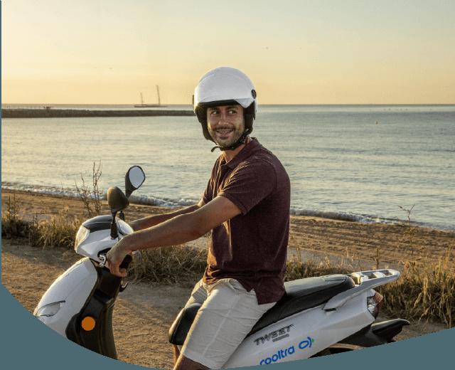 Alquiler de motos para empresas y particulares