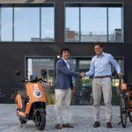 Just Eat adquiere una de las mayores flotas eléctricas de motos y bicis de España